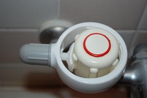 蛇口ハンドルレバー取付例